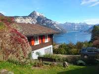 Ferienhaus (3 Zimmer) mit grandioser Seesicht