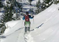 Schneeschuhwanderung Ftan