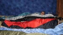 Schlaf im Stroh