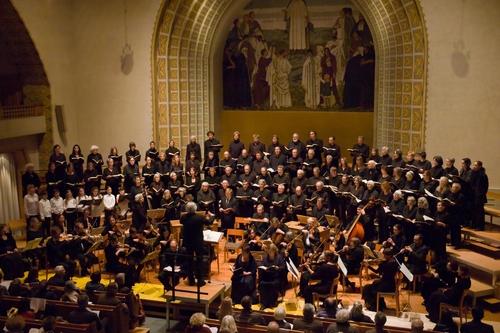 Beethovens Missa solemnis mit dem Glarisegger Chor