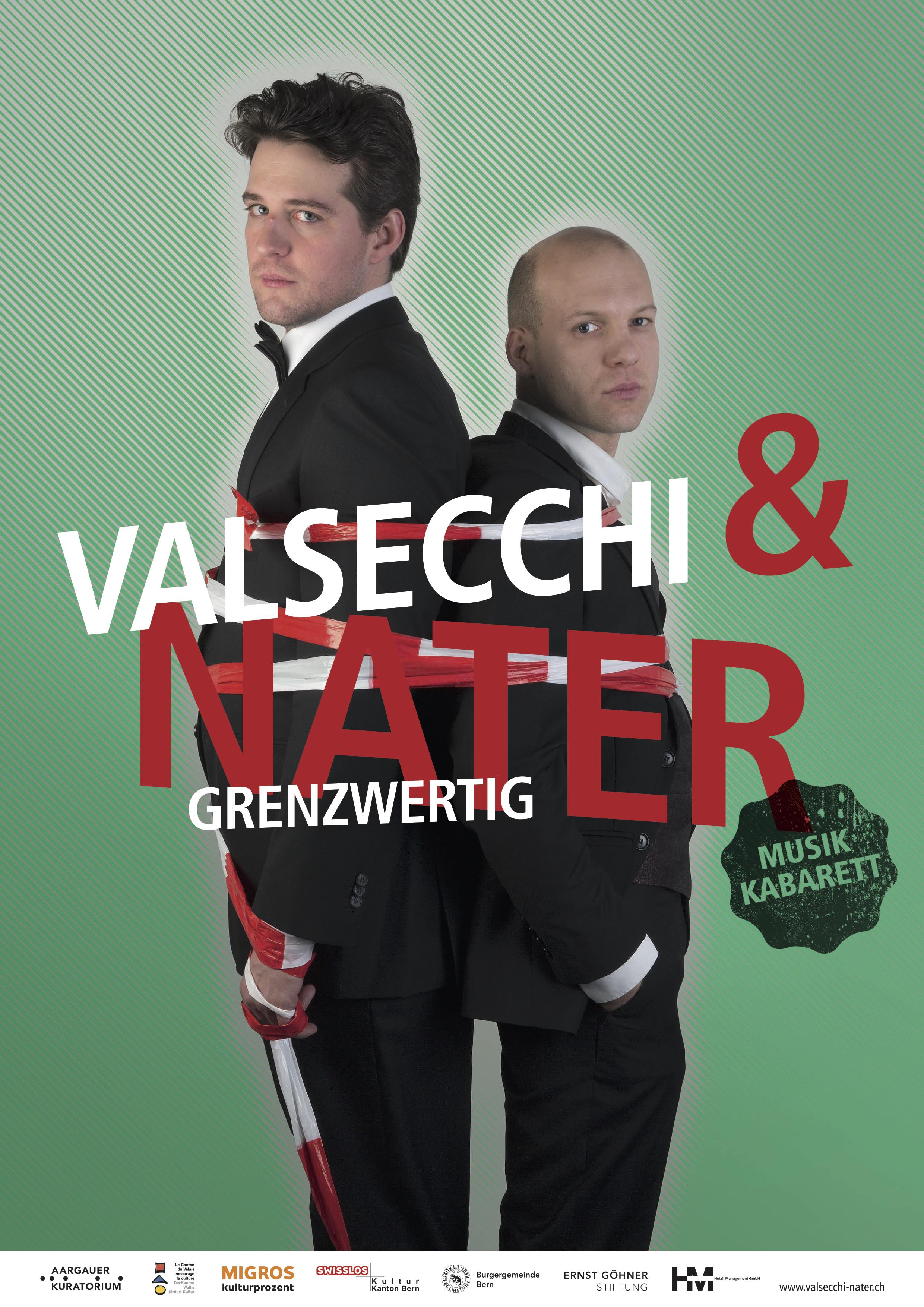 Valsecchi & Nater - grenzwertig - Bern Welcome