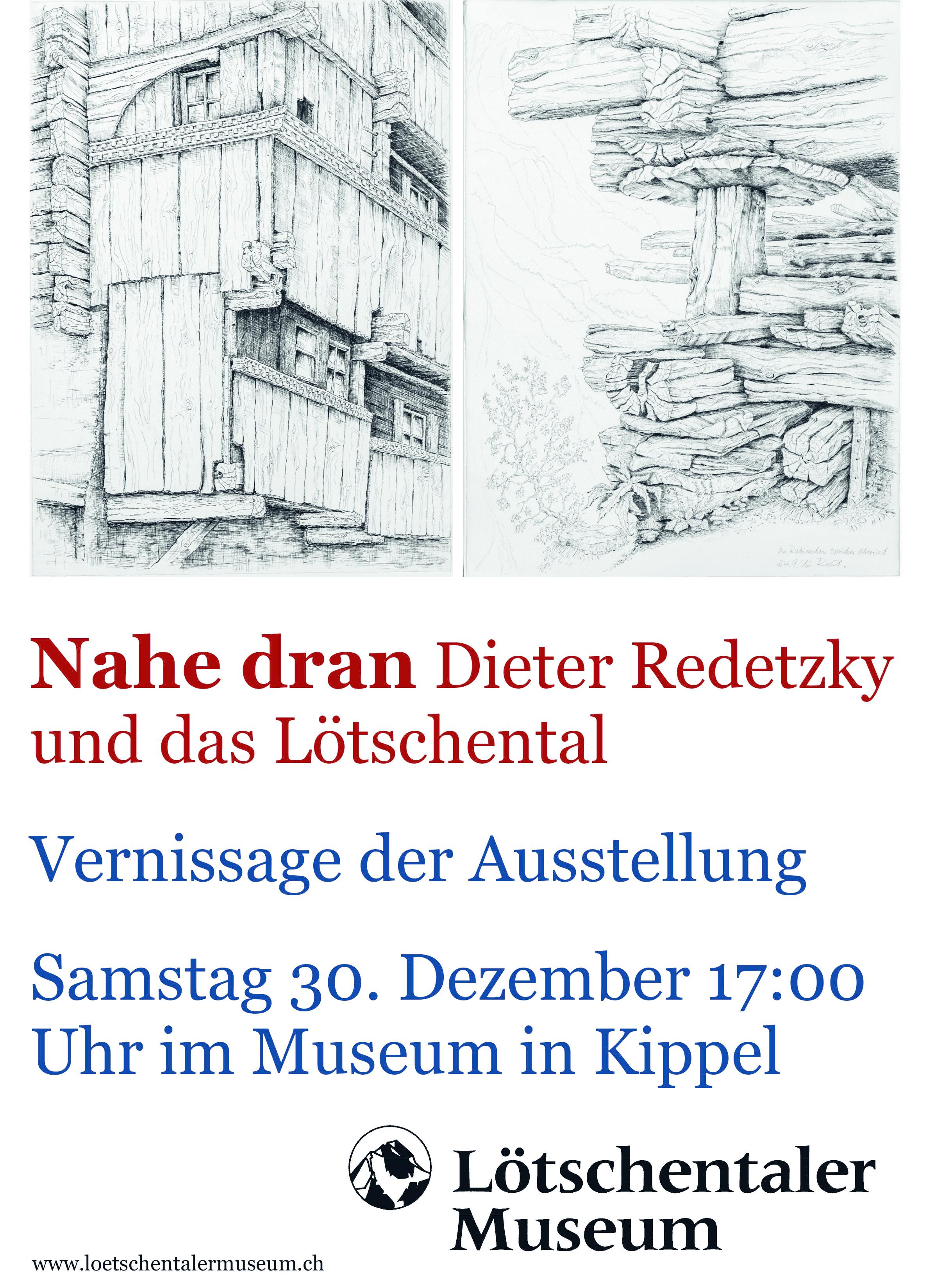 Nahe dran - Dieter Redetzky und das Lötschental