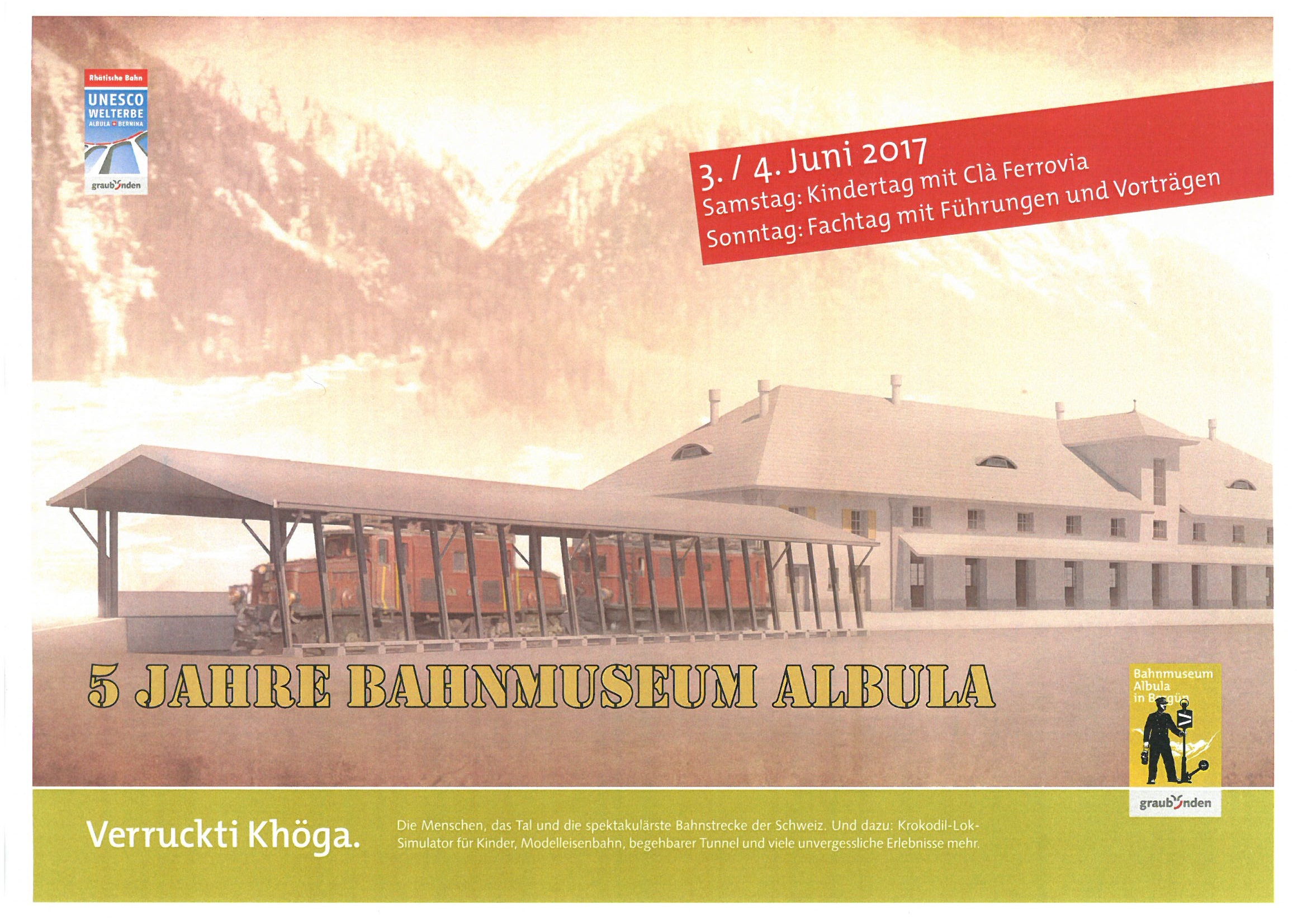 5 Jahre Bahnmuseum Albula