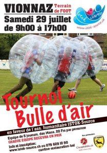 Tournoi de Foot Bulle d'Air @  |  |