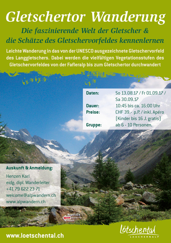 Gletschertor Wanderung