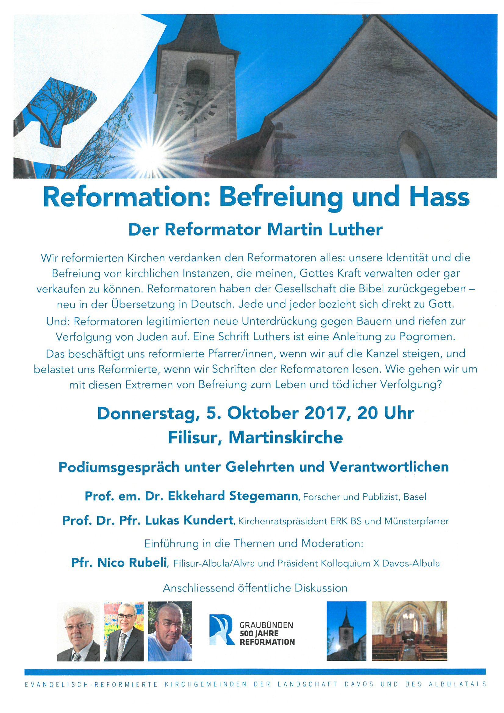 Reformation: Befreiung und Hass