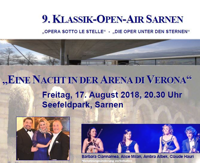 9. Klassik Open-Air Sarnen