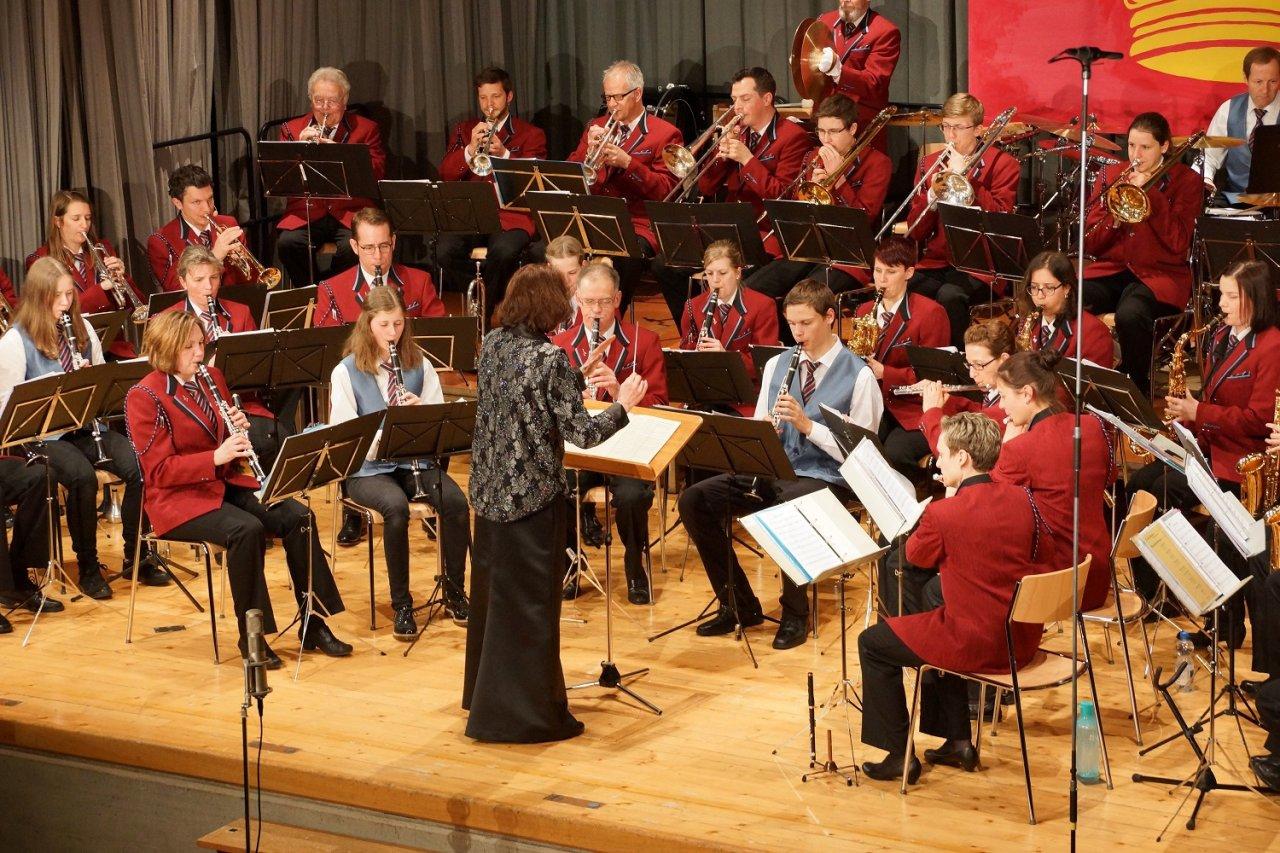 Jahreskonzert der Musikgesellschaft Menzingen