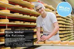 Führung Blick hinter die Kulissen der Milchmanufaktur