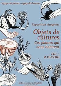 Exposition citoyenne : Objets de cultures.