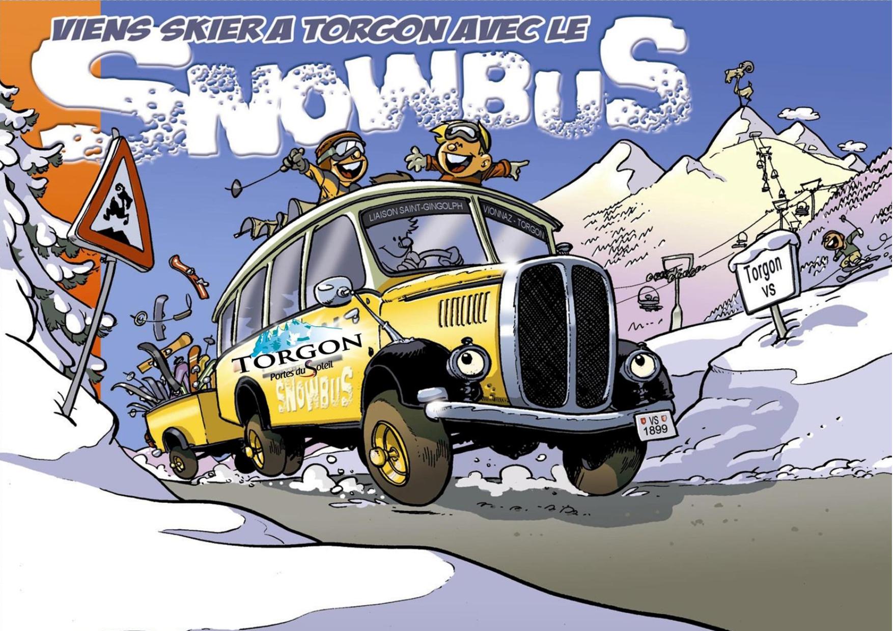 Le Torgon SnowBus @  |  |