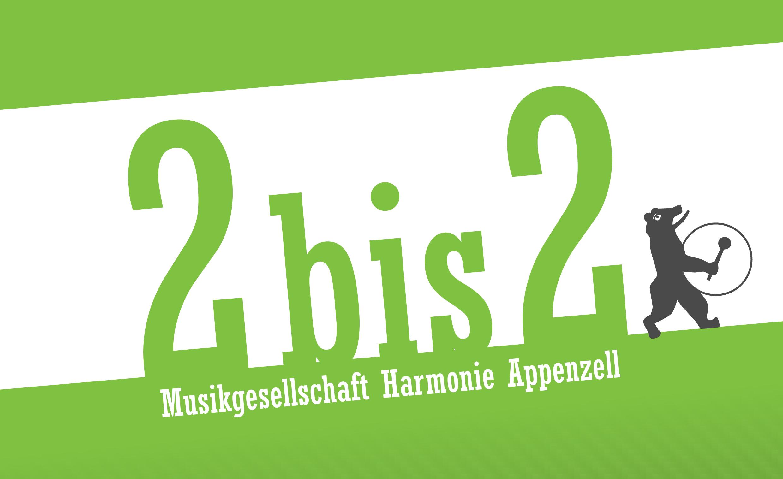 2bis2 2019 - Frühlingsunterhaltung der Harmonie Appenzell