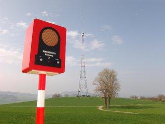 BEROMÜNSTER-Radioweg © DNS-Transport Zug