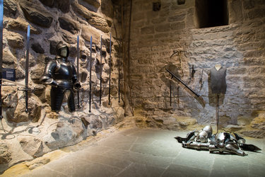 Waffenkeller im Schloss Frauenfeld