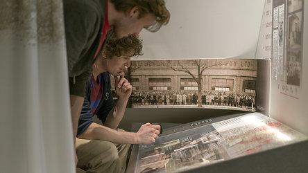 Eine historische Reise. Foto: Georgios Kefalas, Museum.BL