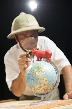 Das rote Nashorn (Foto Werner Rolli)