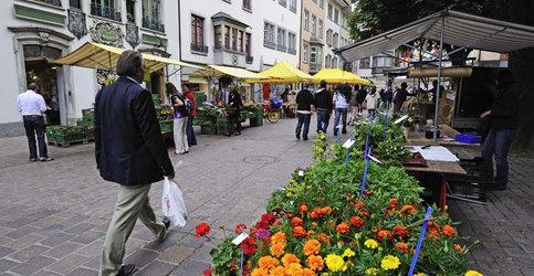 Schaffhauser Wochenmarkt - 1