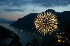 Feuerwerk um 22 Uhr