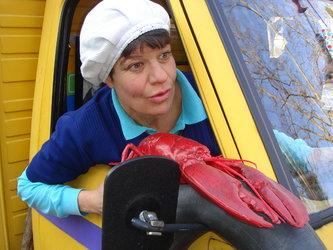 Putzfrau Luise in Fahrt