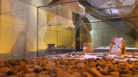 Scherbenteppich von Reinach. Foto: Martin Friedli, Museum.BL