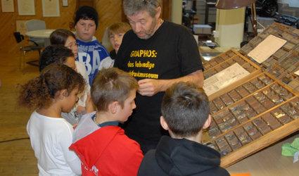Führungen durchs Buchdruckmuseum Graphos