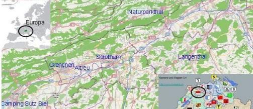 Ferienwohnungen und Hotels Region Solothurn