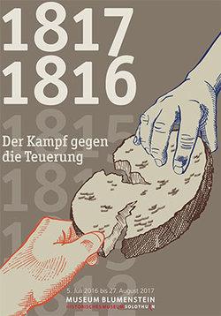 1816 / 1817 - Der Kampf gegen die Teuerung - 1