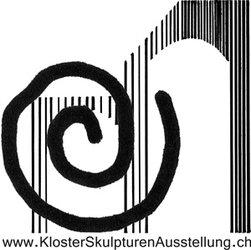 Logo der KlosterSkulpturenAusstellung, Klosterruine Rüeggisberg