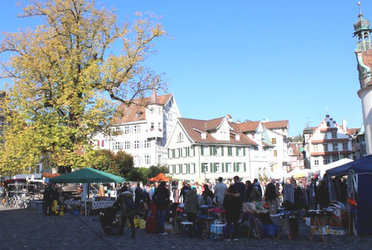 Flohmarkt auf dem Gallusplatz - 1